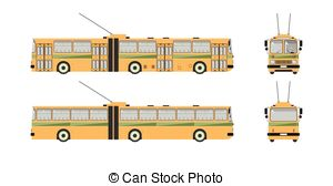 Trackless trolley Clipart Vector and Illustration. 8 Trackless.