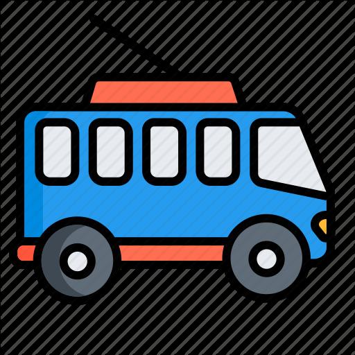 Bus, public, trackless trolley, tram, transport, trolleybus.