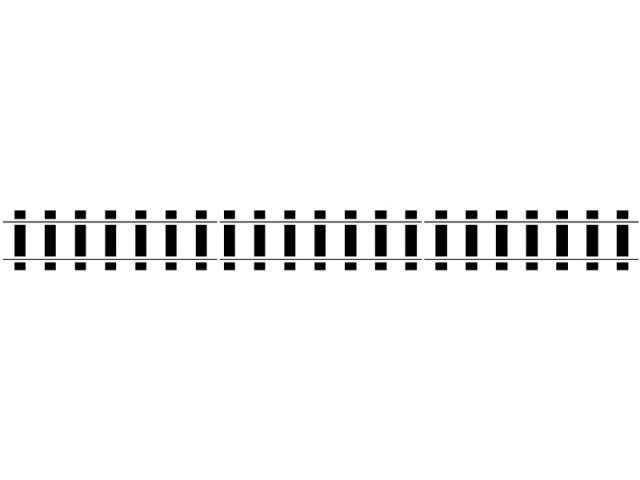 Train track clip art borders.