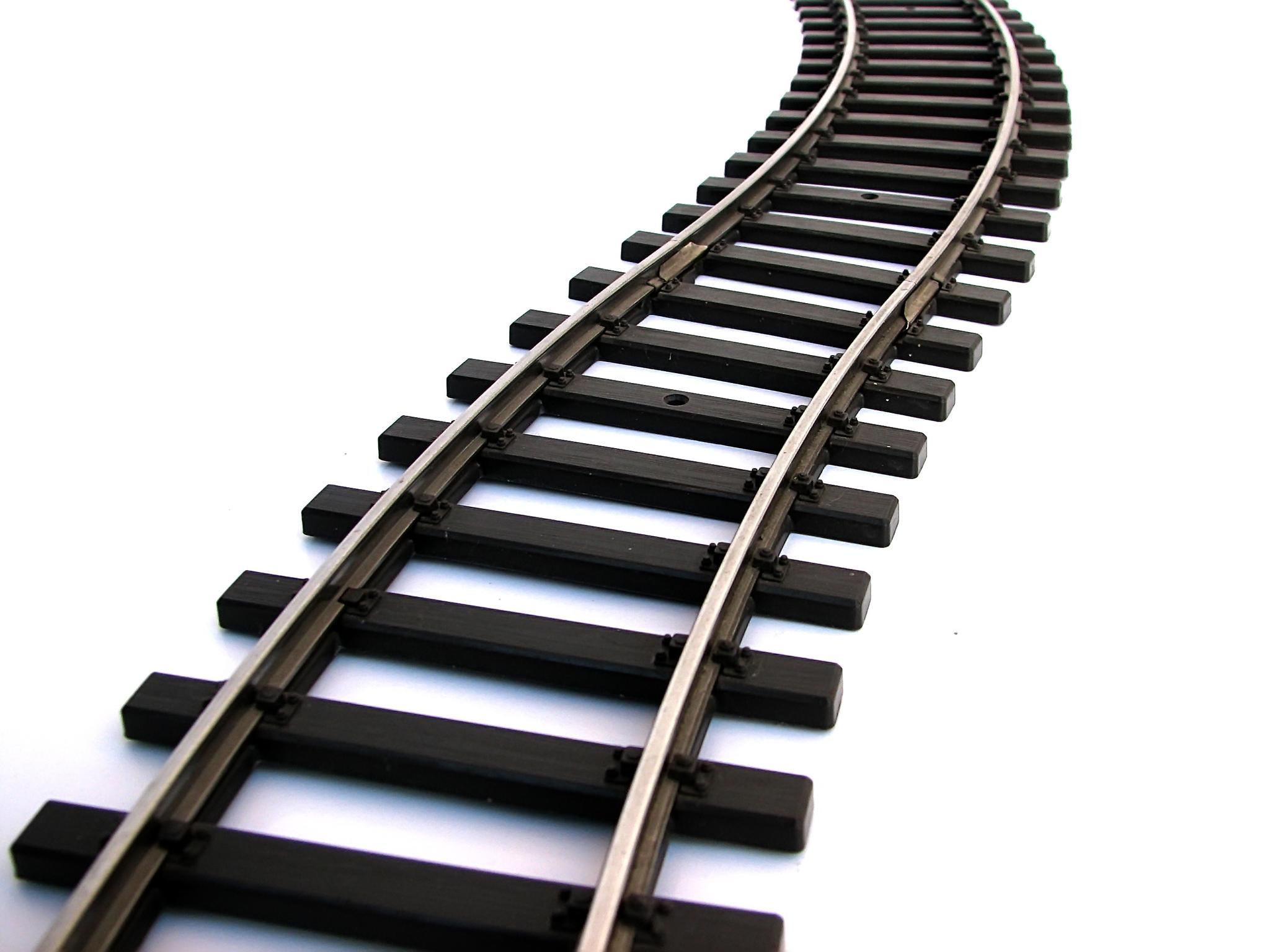 Train tracks clip art.