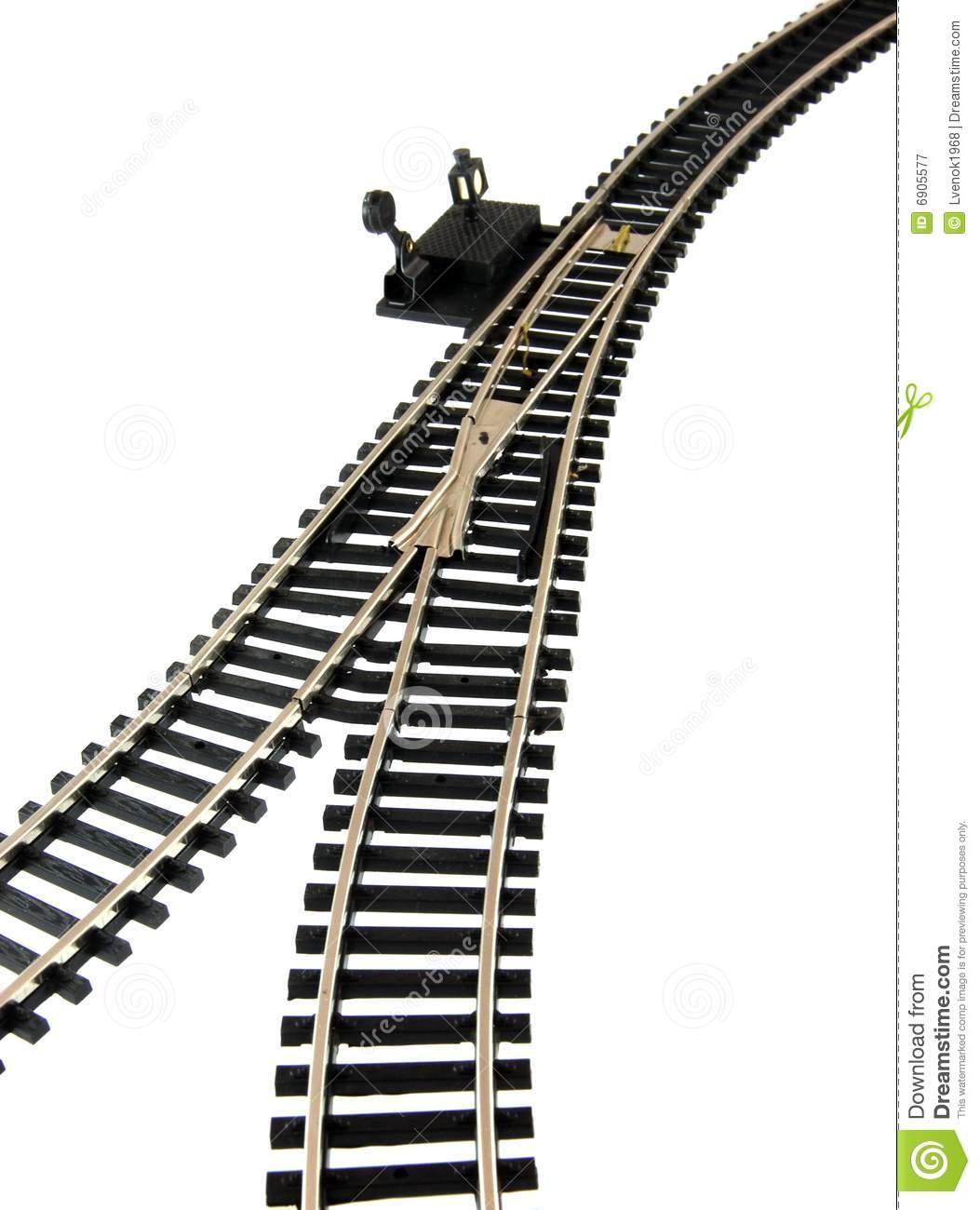 Train Track Clipart.