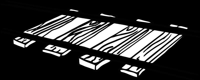 Railroad tracks clip art.