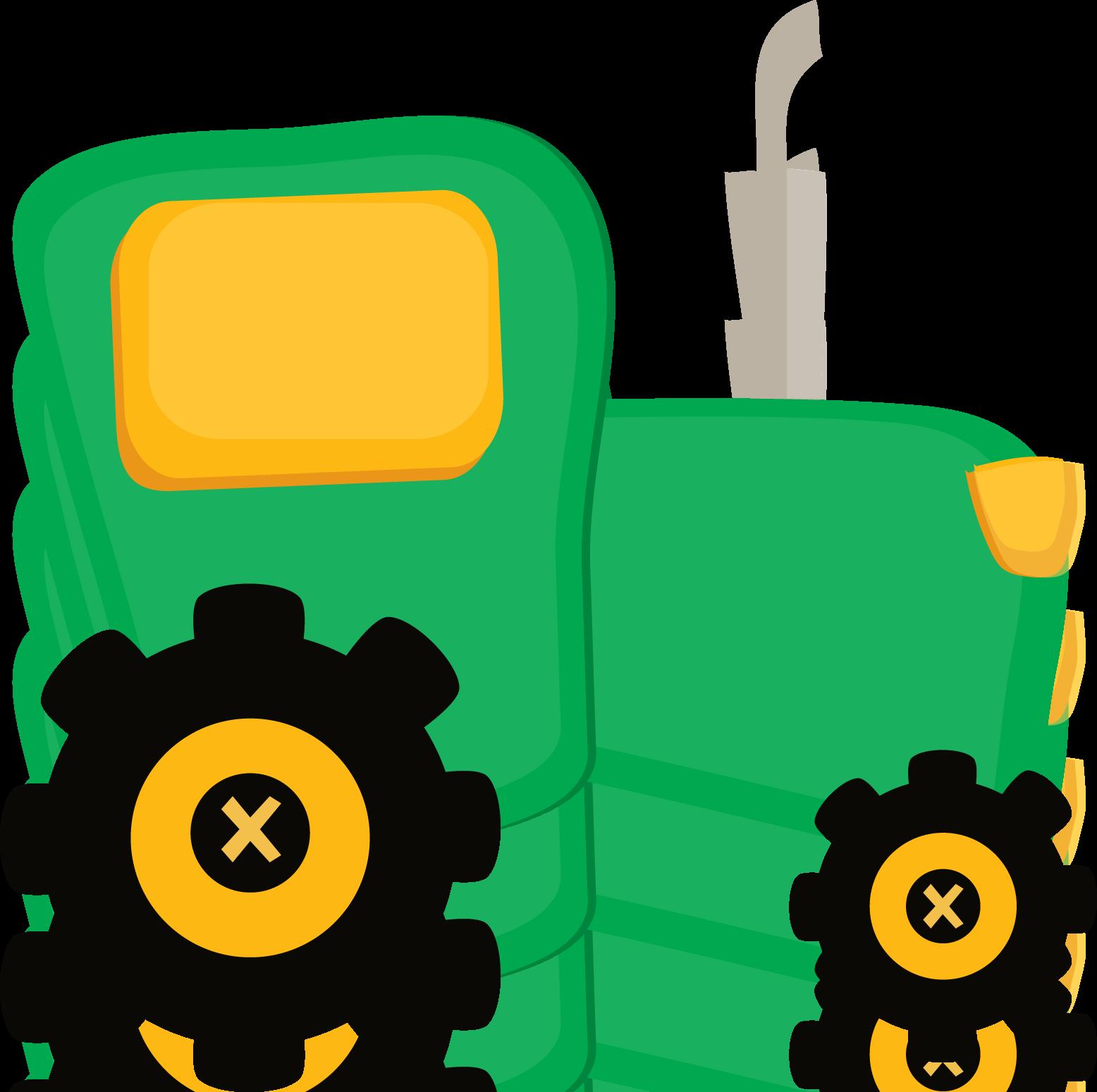John deere tractor clip art.
