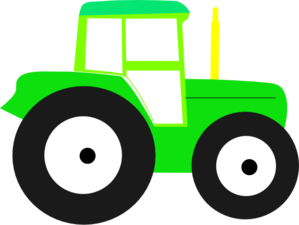 Baby tractor clipart.