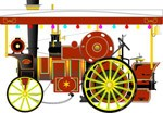 Railway, clipart Corel Xara.