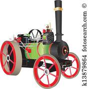 Steam engine Clipart Illustrations. 1,513 steam engine clip art.