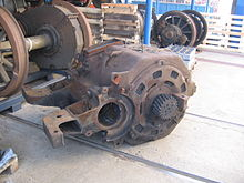 Traction motor.