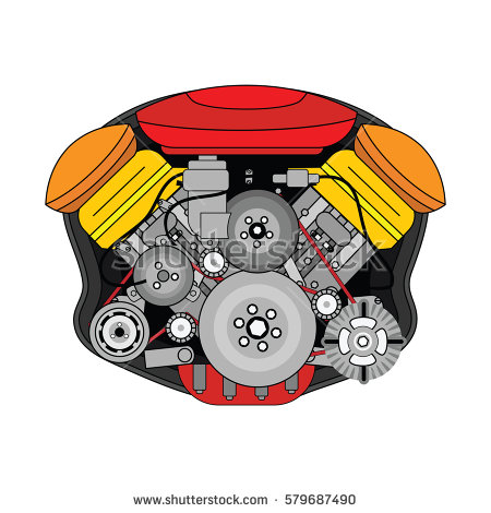 Internal Combustion Engine Stock Photos, Royalty.
