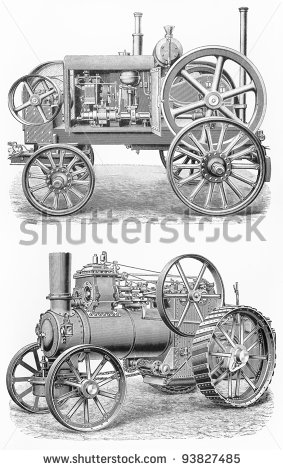 Tractor Engine Stock Photos, Royalty.