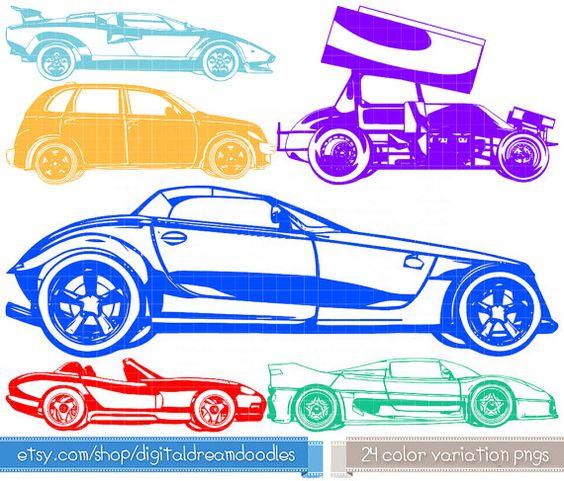 Clipart, Car Clip Art, Vehicle Prowler Image, Auto Cruiser Graphic.