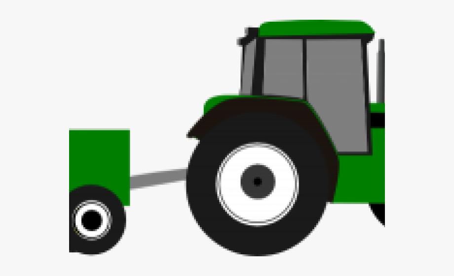 Wagon Clipart John Deere Tractor.