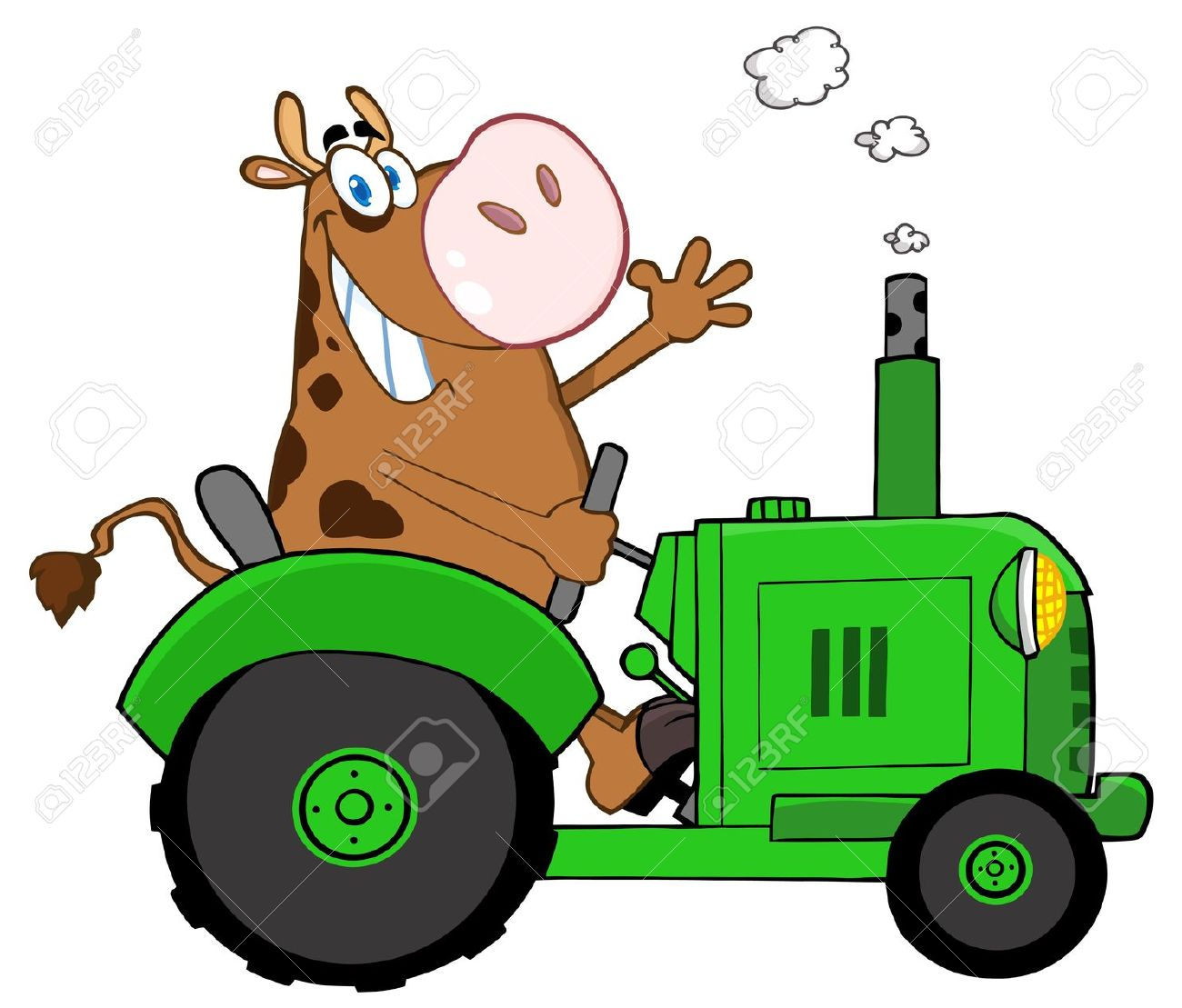 Farm Tractor Wheel Clip Art : Tractor clipart clipground