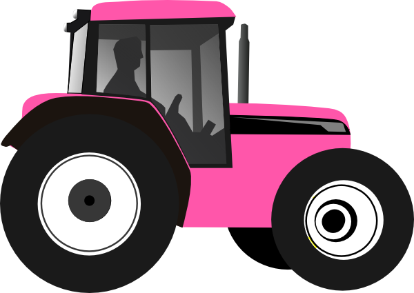 Outline tractor clipart free clip art images image 2.