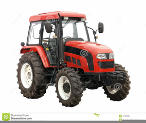 Red Tractor Clipart.
