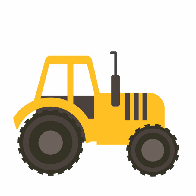 Tractor PNG Clipart Background.