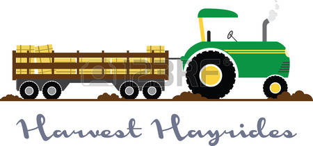 106 Hayride free clipart.