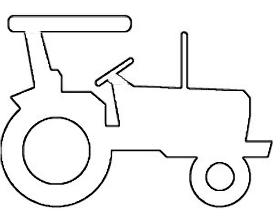 Tractor Outline Drawing at PaintingValley.com.