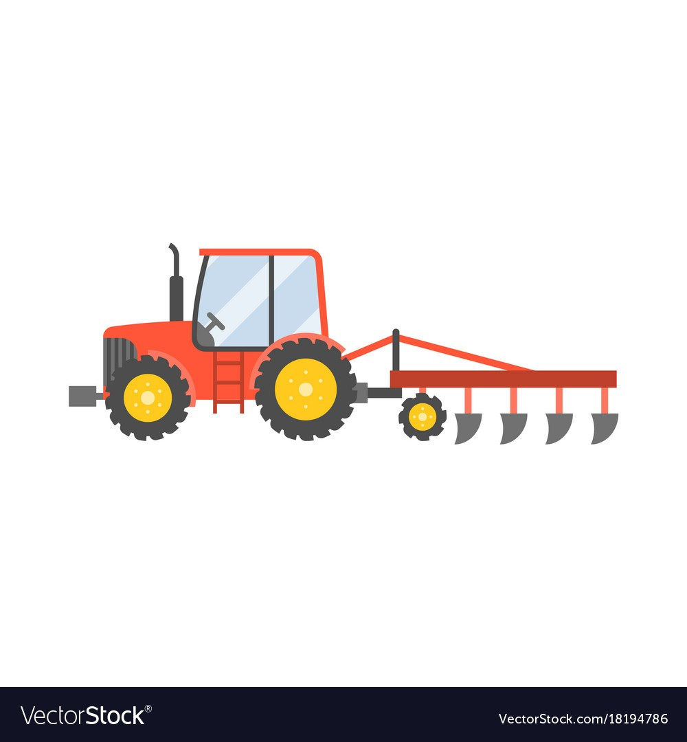 Tractor plowing clipart 6 » Clipart Portal.