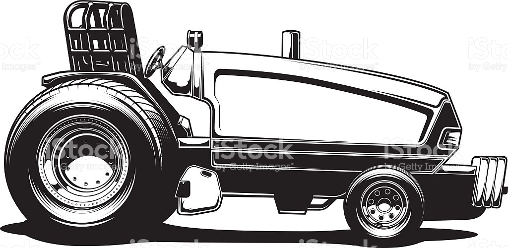 Tractor pull clipart 7 » Clipart Station.