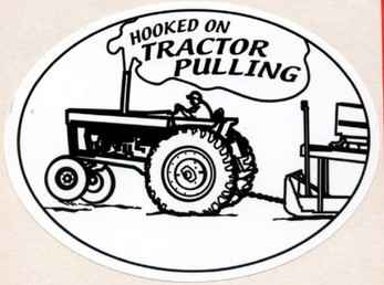 Cartoon Tractor Pull Clipart.