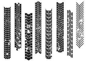 Tire Tread Free Vector Art.