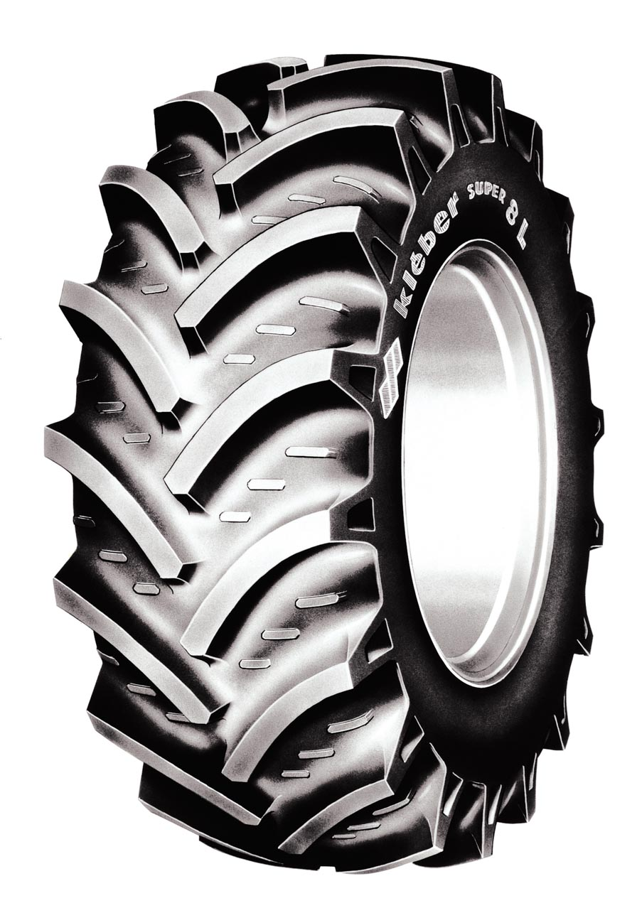 Tractor tyre clipart.