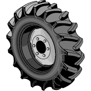 Tractor Tire Clipart.
