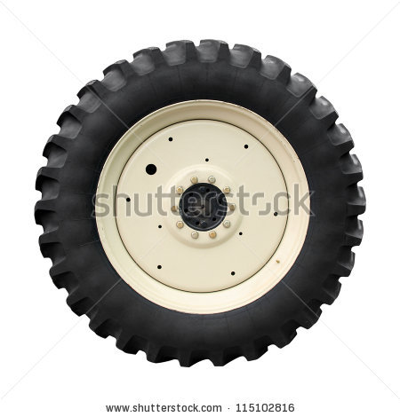 Tractor Tire Stock Photos, Royalty.