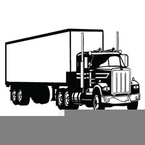 Free Clipart Of Tractor Trailers.