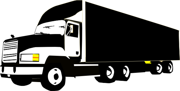 Tractor Trailer Truck Clipart.