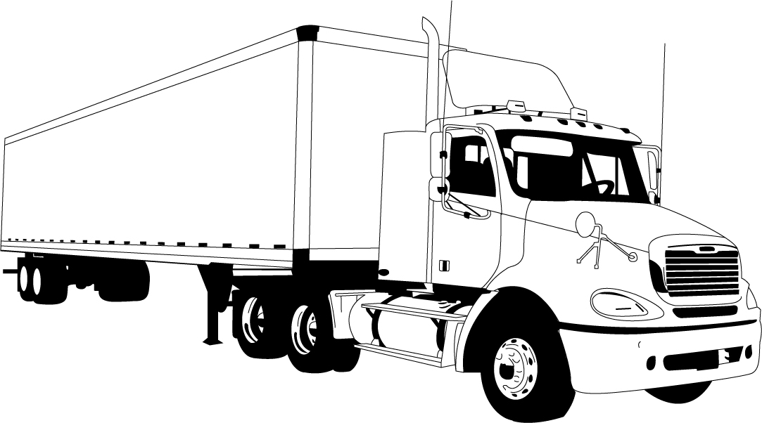 Tractor Trailer Clipart Group with 53+ items.