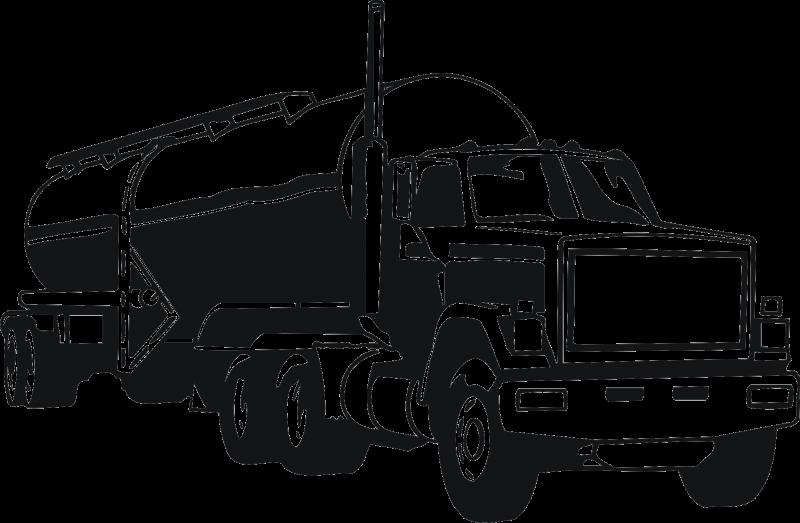 Car Tank truck Semi.