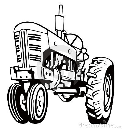 Tractor Stock Illustrations.