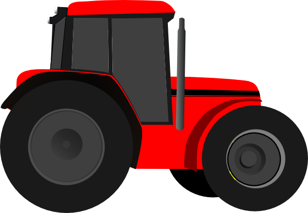 International Tractor Clipart.