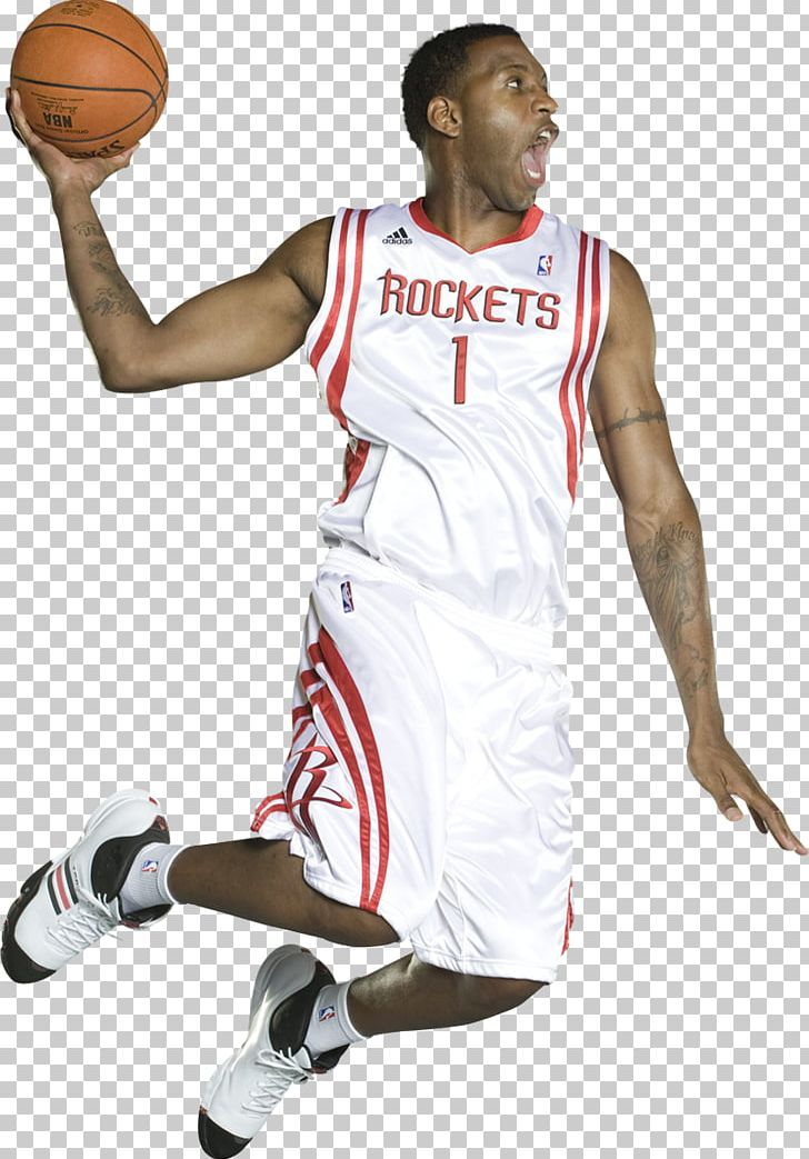 Tracy McGrady Houston Rockets Basketball Player Jersey PNG.