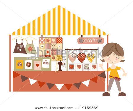 Craft Fair Stock Photos, Royalty.