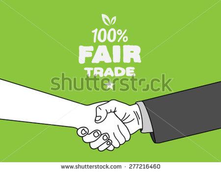 Fair trade clipart.
