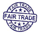 Drawings of Fair Trade Grunge Stamp k15717184.