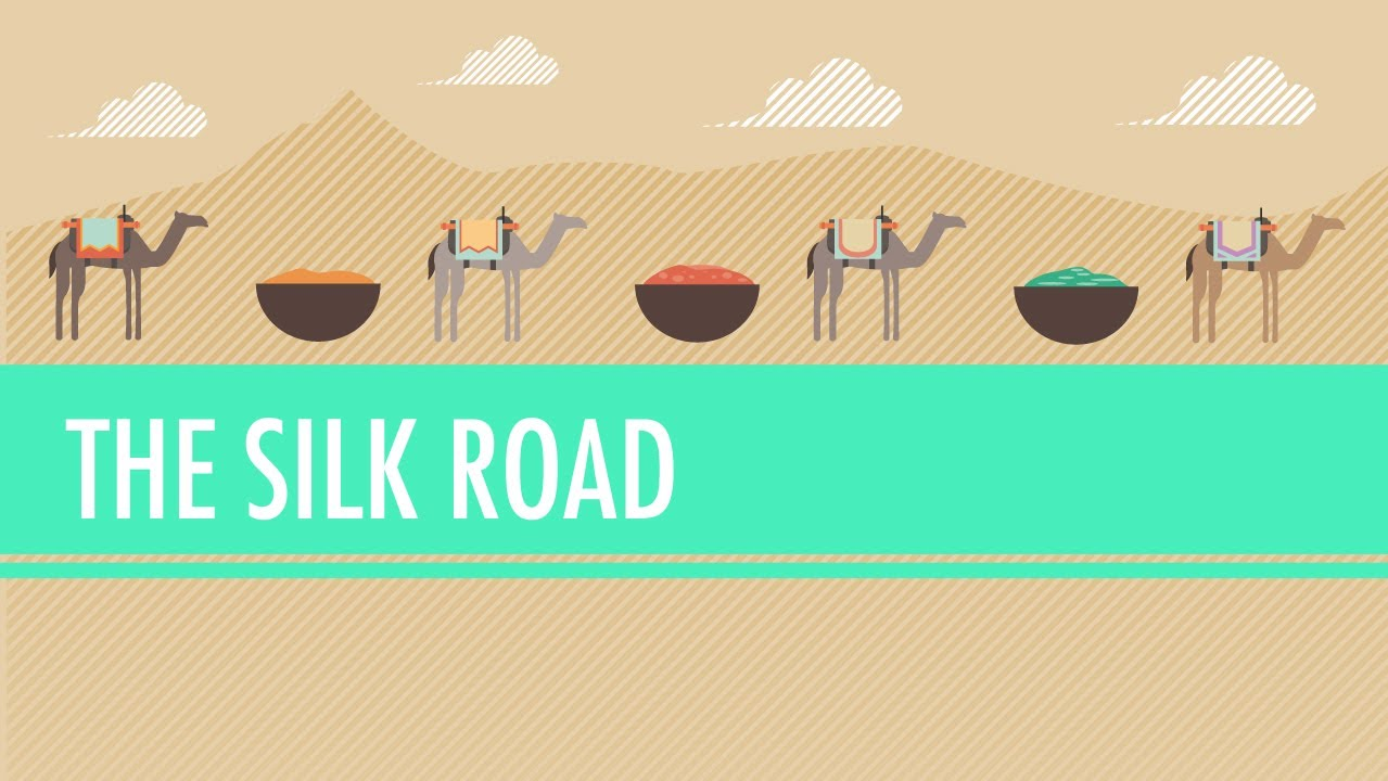 The Silk Road and Ancient Trade: Crash Course World History #9.