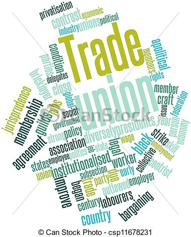 Trade union clipart.