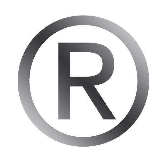 Registered Trademark Symbol Vector.