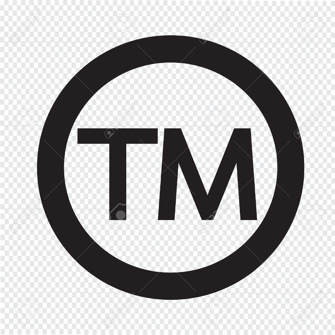 Clipart trademark symbol.