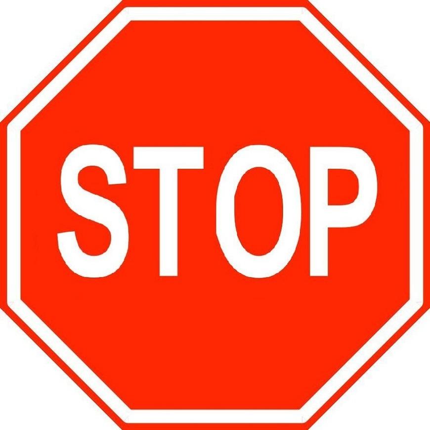 Stop Logos Logo Sign Signs Symbols Trademarks Of Clipart.