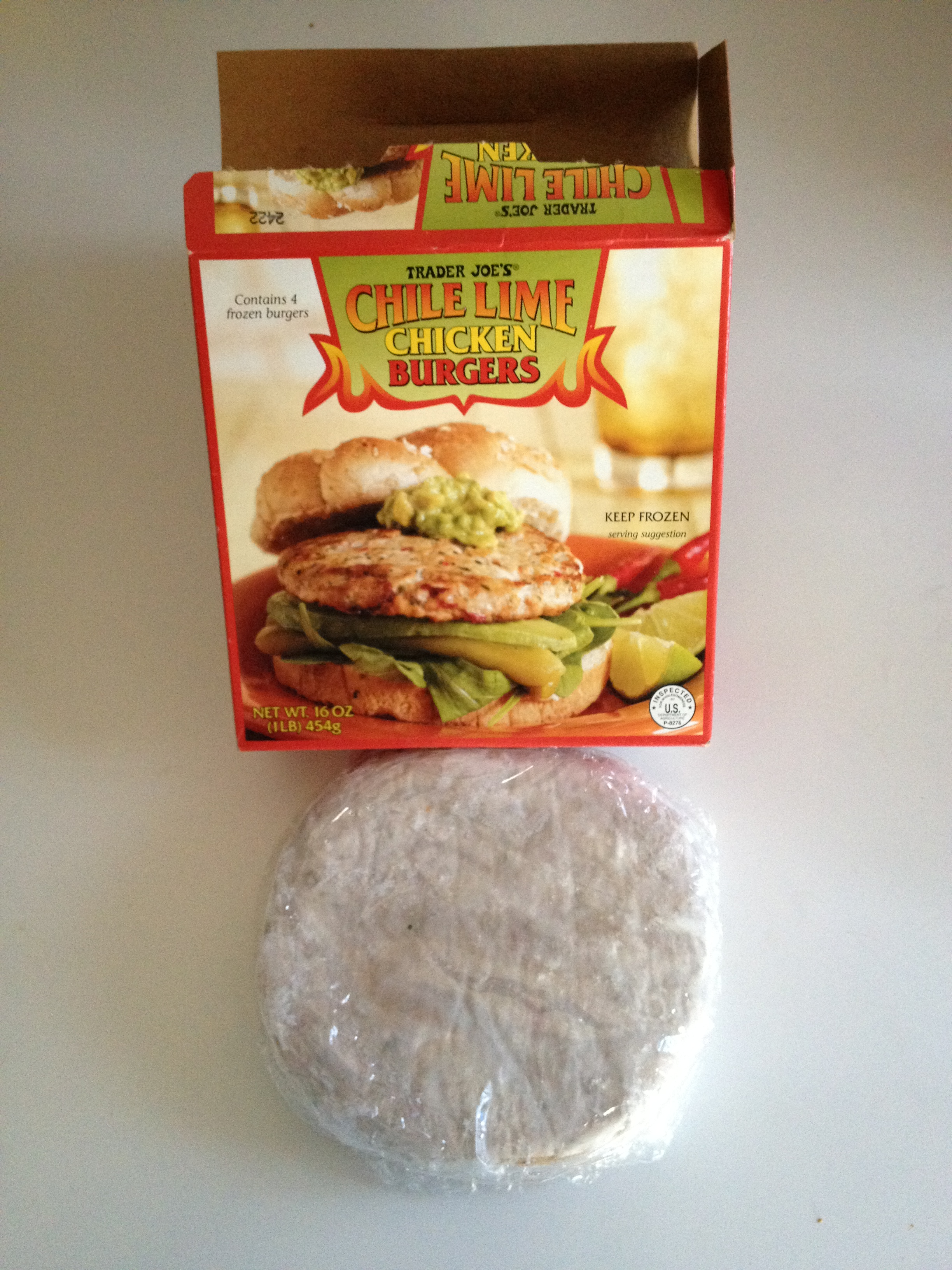 Trader Joes Salmon Burgers Directions.