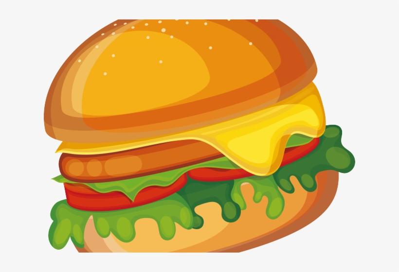 Veggie Burger Clipart.