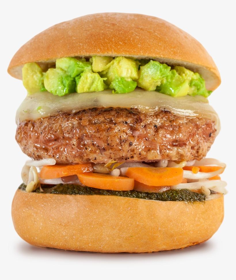 Veggie Burger Clipart Vegetable Burger.