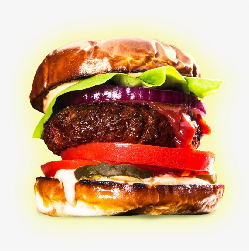Veggie Burger Clipart Meat Food.