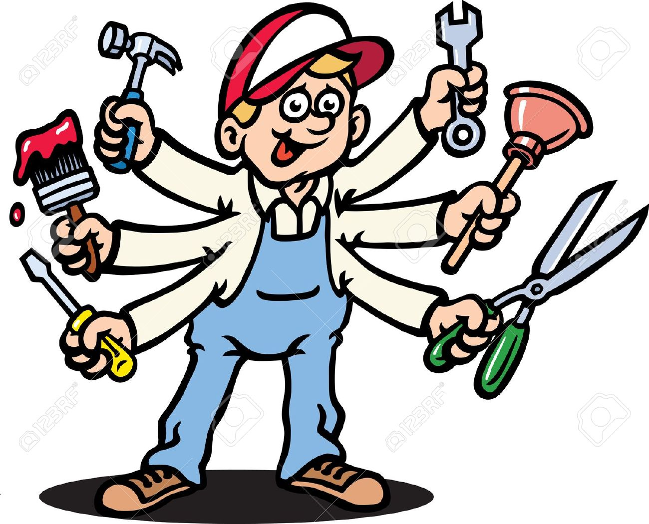 Jack Of All Trades Clipart.
