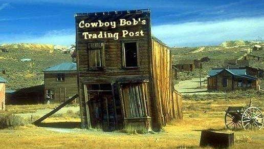 Cowboy Bob's Trading Post.