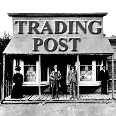 Trading Post Clip Art.